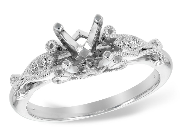 Diamond Engagement Ring by Allison Kaufman