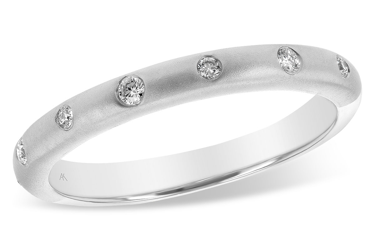 .09 cttw Diamond Wedding Band by Allison Kaufman