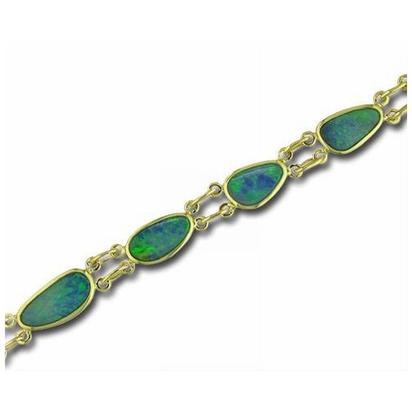 Colored Stone Bracelet by Parle