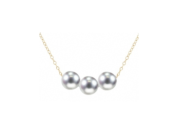 14KY Pearl Necklace by Imperial