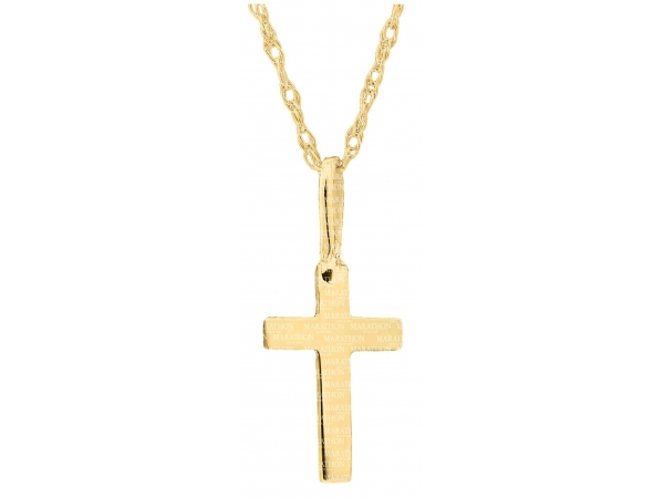 14KY Baby Cross Necklace by Kiddie Kraft