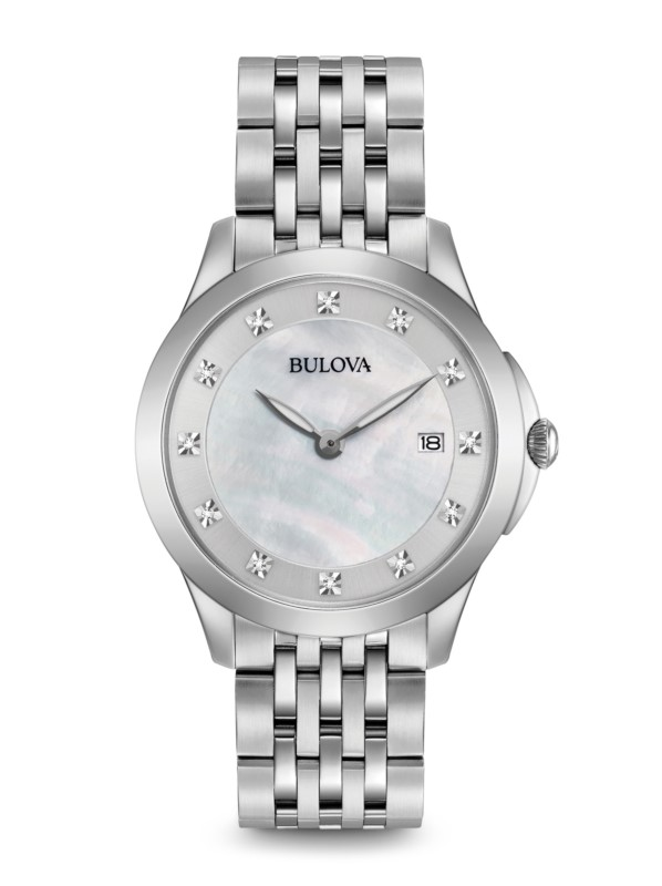 Bulova Lds SST Diamond dial by Bulova