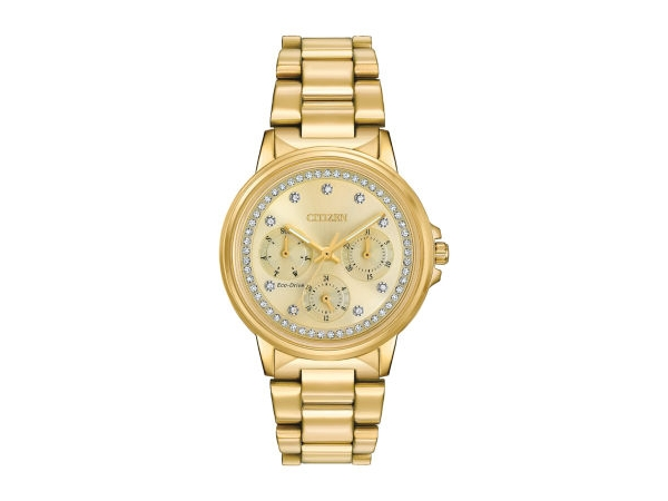 Silhouette Crystal Ladies Watch Eco-Drive by Citizen