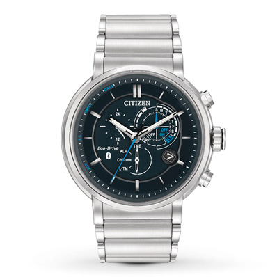 Citizen Proximity Eco-Drive SST WR100 Chrono dial by Citizen