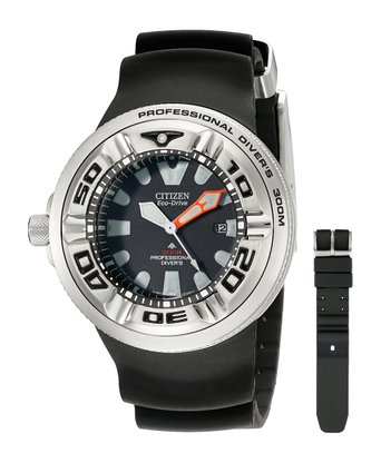 Gents Citizen Diver Watch rubber strap by Citizen